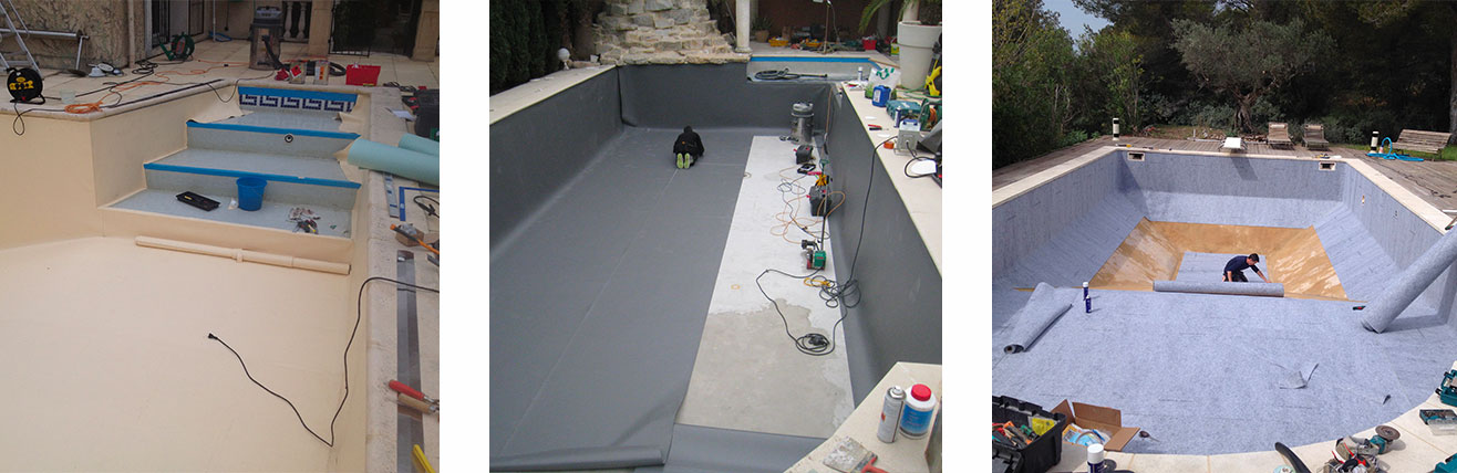 piscine liner pvc arm piscine liner r novation piscine. Black Bedroom Furniture Sets. Home Design Ideas